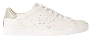 Gucci Ace Sneaker Gg White and gray Athletic