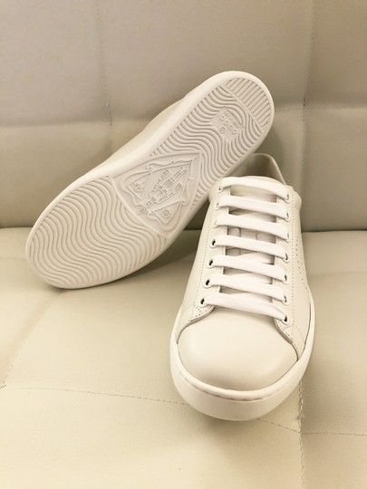 Gucci Ace Sneaker Gg White and gray Athletic Image 5