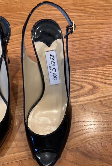Jimmy Choo Black Pumps Image 1