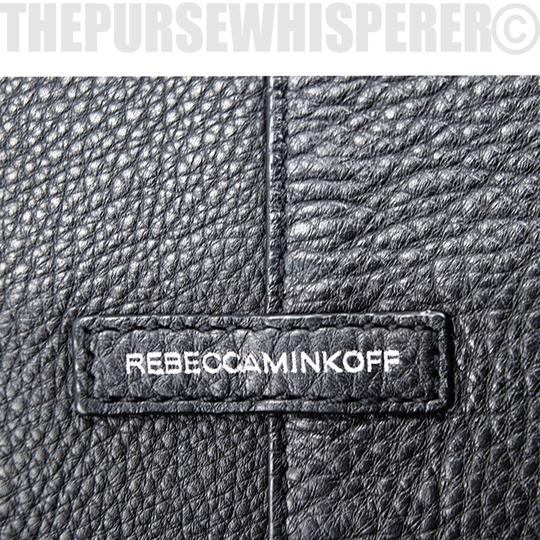 Rebecca Minkoff Pebbled Leather Tassel Tote in Black Image 11