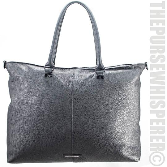 Rebecca Minkoff Pebbled Leather Tassel Tote in Black Image 9
