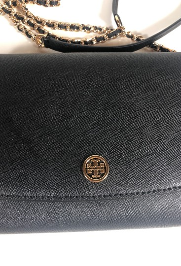 Tory Burch Robinson Leather Wallet Chain Cross Body Bag Image 4