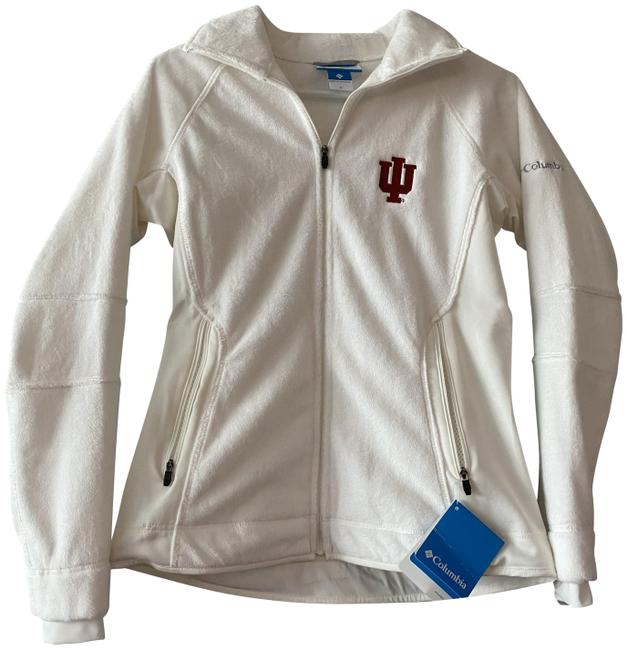 Item - Soft White Women's Indiana University Small Plush Activewear Outerwear Size 4 (S)