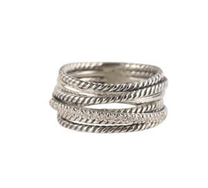 David Yurman David Yurman Crossover Diamond Ring