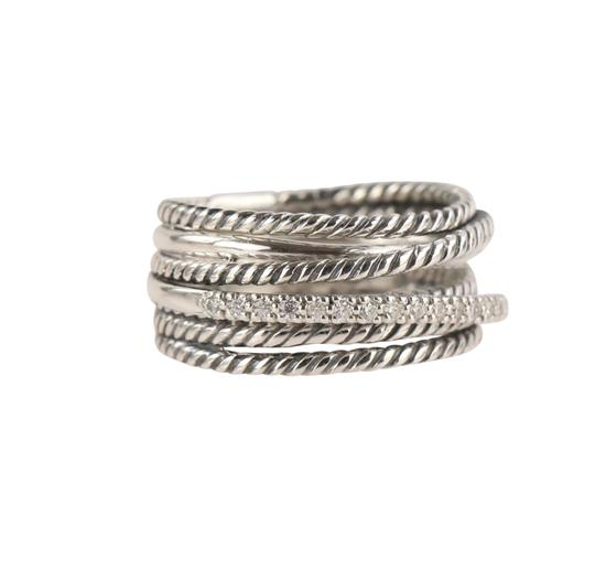 David Yurman David Yurman Crossover Diamond Ring Image 2