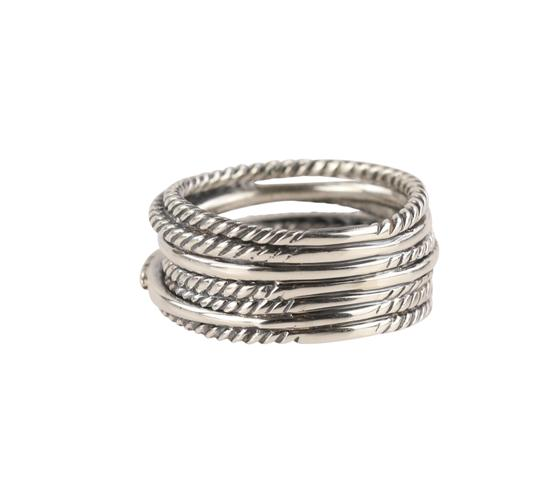 David Yurman David Yurman Crossover Diamond Ring Image 6