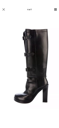 Ann Demeulemeester Black Boots Image 1
