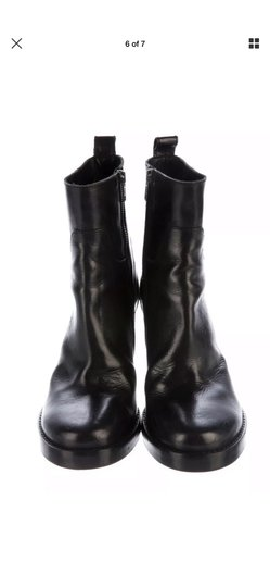 Ann Demeulemeester Black Boots Image 3