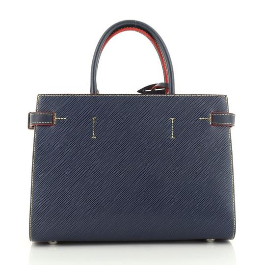 Louis Vuitton Leather Tote in blue Image 2