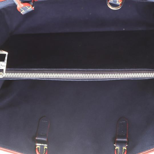Louis Vuitton Leather Tote in blue Image 4
