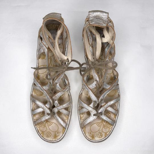 FLY London gold Sandals Image 1