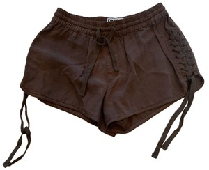 PAM & GELA Mini/Short Shorts Brown