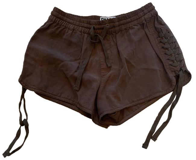 Preload https://img-static.tradesy.com/item/26412382/pam-and-gela-brown-tencel-tie-up-shorts-size-petite-2-xs-0-1-650-650.jpg
