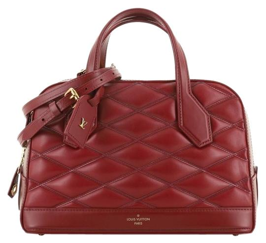 Preload https://img-static.tradesy.com/item/26412406/louis-vuitton-dora-handbag-malletage-pm-red-leather-satchel-0-1-540-540.jpg