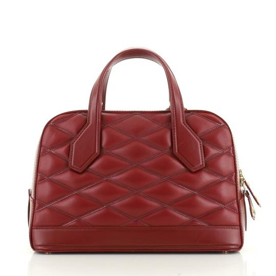 Louis Vuitton Leather Satchel in red Image 2