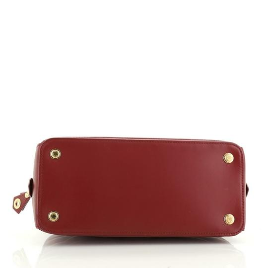 Louis Vuitton Leather Satchel in red Image 3