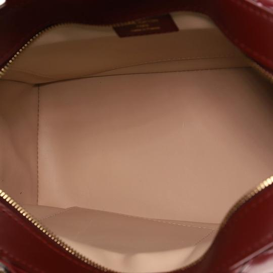 Louis Vuitton Leather Satchel in red Image 4