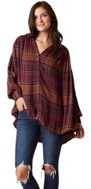 Preload https://img-static.tradesy.com/item/26412422/free-people-come-on-over-plaid-tunic-size-4-s-0-1-650-650.jpg