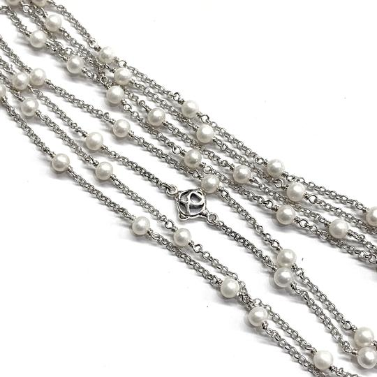 David Yurman GORGEOUS! David Yurman Pearl Toggle Necklace Image 3