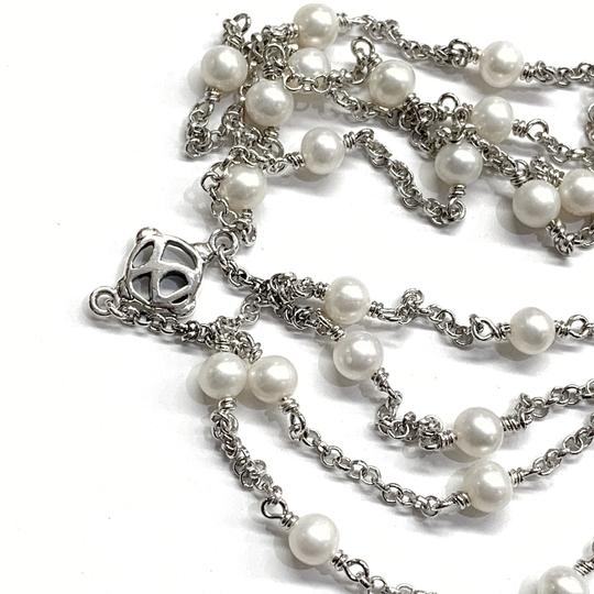 David Yurman GORGEOUS! David Yurman Pearl Toggle Necklace Image 6