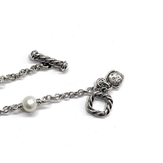 David Yurman GORGEOUS! David Yurman Pearl Toggle Necklace Image 7