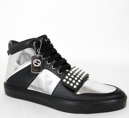 Preload https://img-static.tradesy.com/item/26412461/gucci-silverblack-men-s-high-top-sneaker-limited-edition-376194-1064-size-95-g-us-10-shoes-0-0-540-540.jpg