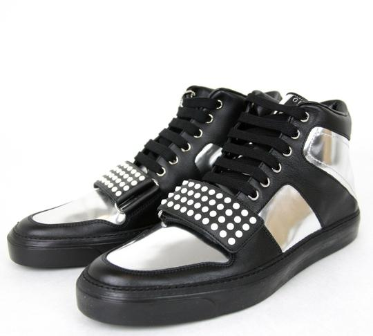 Gucci Silver/Black Men's High-top Sneaker Limited Edition 376194 1064 Size 9.5 G / Us 10 Shoes Image 1