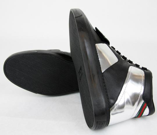 Gucci Silver/Black Men's High-top Sneaker Limited Edition 376194 1064 Size 9.5 G / Us 10 Shoes Image 10