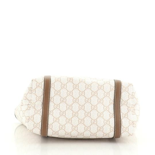 Gucci Canvas Tote in brown and neutral Image 3