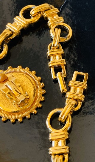 Carolee carolee bvlgari style coin necklace and earrings Image 4