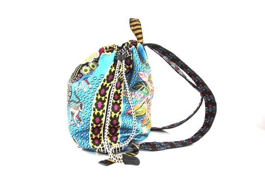 Etro Silk Paisley Money Satin Backpack Image 3