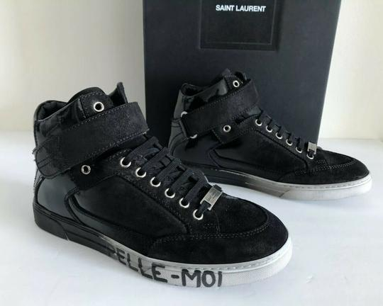 Saint Laurent Smoking Forever Appelle Moi Degrade Men Black Athletic Image 11