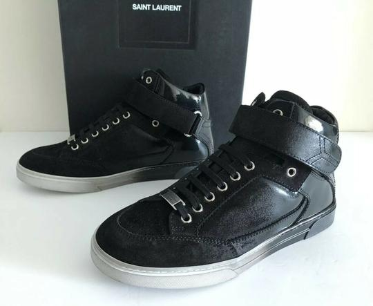 Saint Laurent Smoking Forever Appelle Moi Degrade Men Black Athletic Image 2