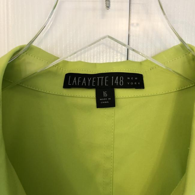Lafayette 148 New York Sleeveless With Tags Top neon green/yellow Image 1