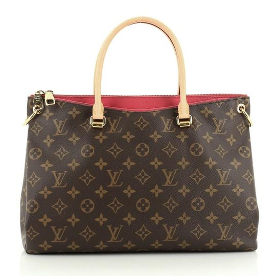 Louis Vuitton Canvas Tote in brown Image 2