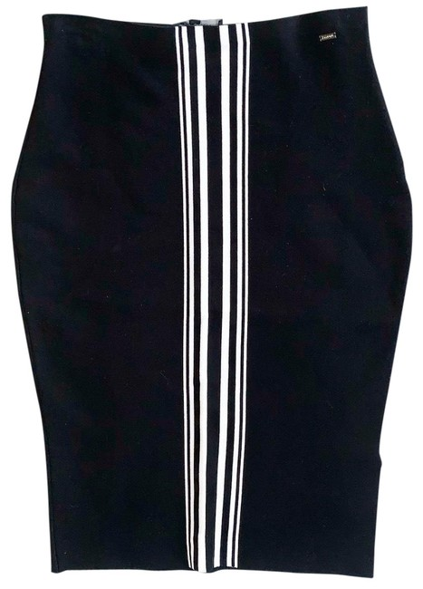 Preload https://img-static.tradesy.com/item/26412621/st-john-black-bodycon-skirt-size-8-m-29-30-0-1-650-650.jpg