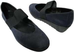 The Flexx Leather Comfort Comfortshoes blue & black Wedges