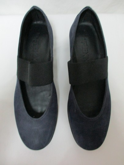 The Flexx Leather Comfort Comfortshoes blue & black Wedges Image 1