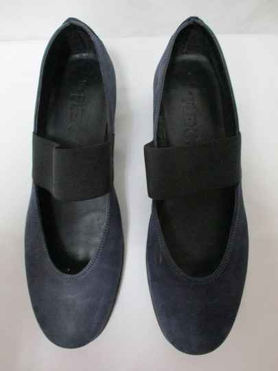 The Flexx Leather Comfort Comfortshoes blue & black Wedges Image 2