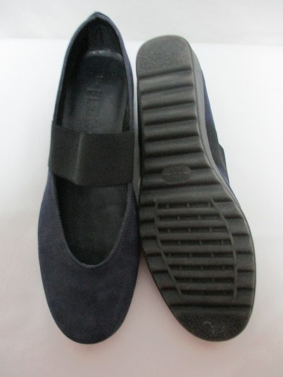 The Flexx Leather Comfort Comfortshoes blue & black Wedges Image 3