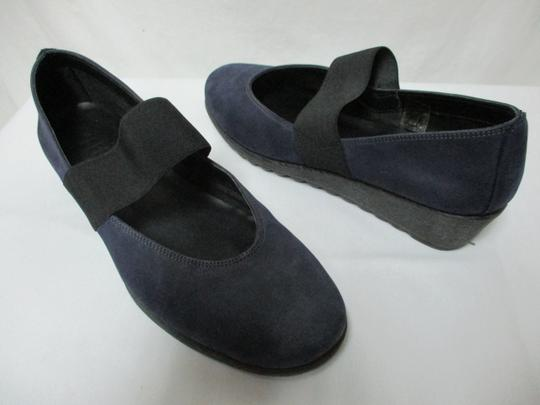 The Flexx Leather Comfort Comfortshoes blue & black Wedges Image 4