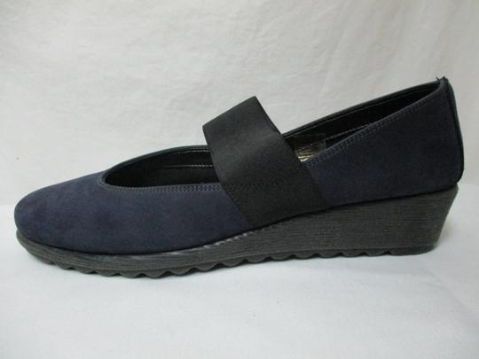 The Flexx Leather Comfort Comfortshoes blue & black Wedges Image 7