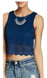 Free People Top Dark blue