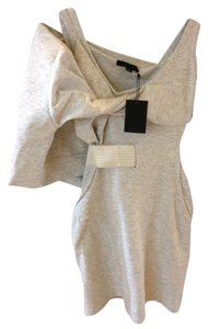 Alexander Wang short dress Heather Grey on Tradesy