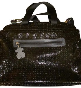 TOUS black Messenger Bag