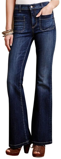 Item - Blue Pilcro & The Letterpress Superscript Women's Flare Leg Jeans Size 27 (4, S)