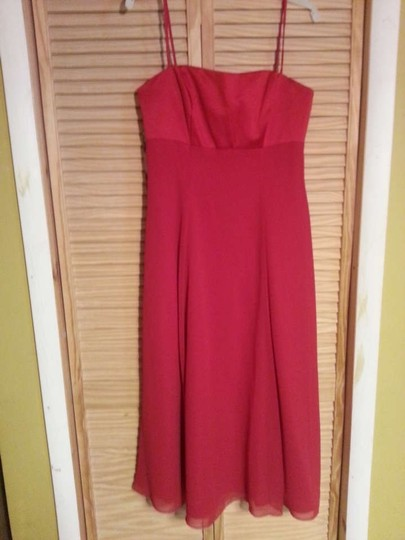 Preload https://img-static.tradesy.com/item/264137/alfred-angelo-cherry-satin-and-chiffon-6310-formal-bridesmaidmob-dress-size-12-l-0-0-540-540.jpg