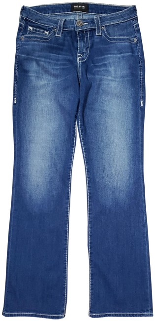 Item - Blue Distressed Vintage Collection - New Hazel - 28r - Boot Cut Jeans Size 28 (4, S)