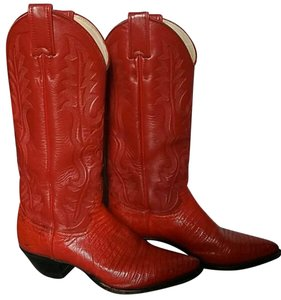 Justin red Boots