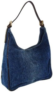 Fendi Italy Summer Hobo Spy Shoulder Bag